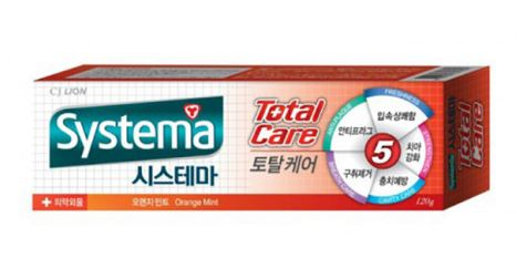 CJ Lion Systema Total Care Orange Mint