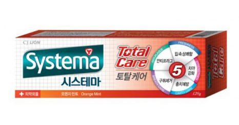CJ Lion Systema Total Care Orange Mint