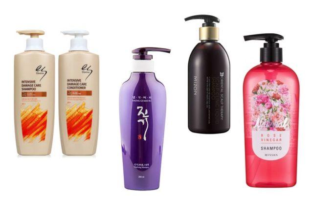 Які є корейські шампуні для волосся