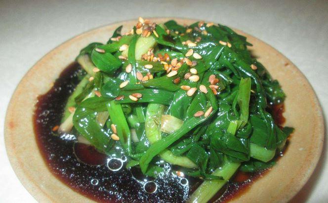 Корейська кухня – салат із зеленої цибулі по корейські
