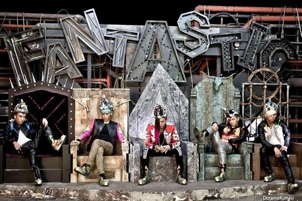 Група BIGBANG – список кліпів