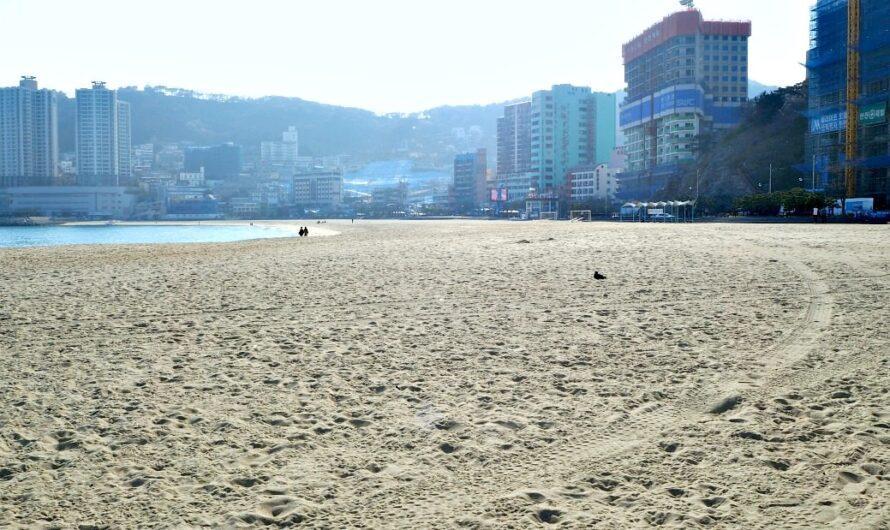 Пляж Сондо Пусан