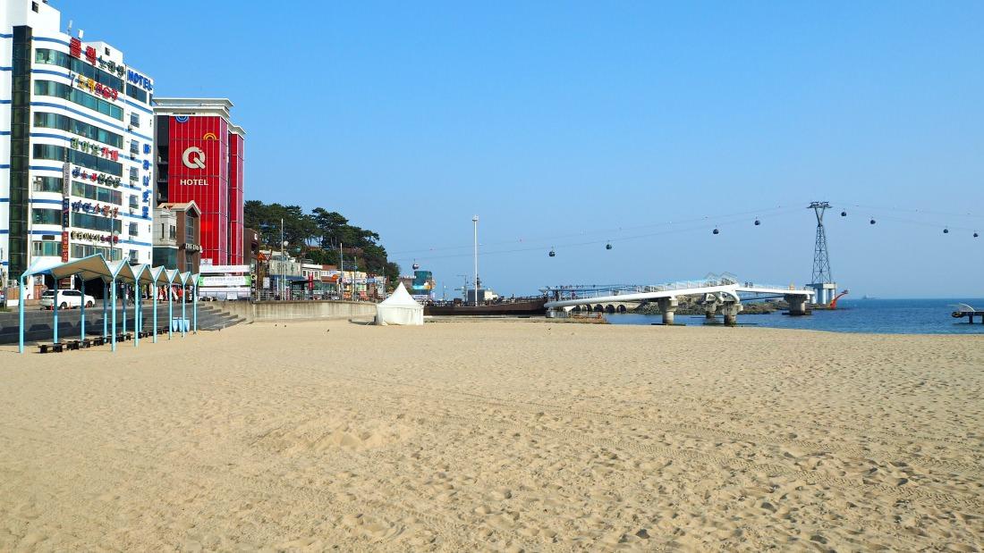 пляж сонгдо